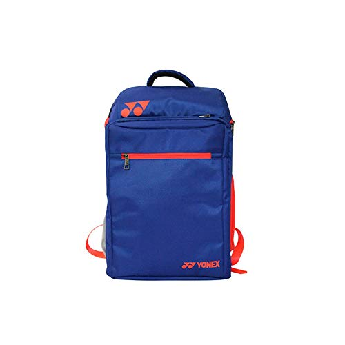 Borsa racchetta da badminton, borsa racchetta da tennis, borsa racchetta a tracolla, borsa sportiva a grande capacità, 2 pacchi di racchetta, impermeabile e antipolvere. ( Color : Royal blue )