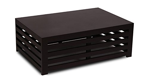 Ikiriya solid wood CTW0054 Coffee Table (Dark Brown)