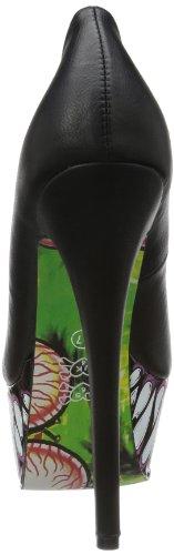Iron Fist Timmy Chew Super Platform, Fermé femme Noir - Noir