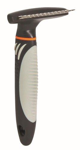 Trixie 23791 Fell-Entwirrer, rotierende Zinken, Langhaar, 7 × 14 cm