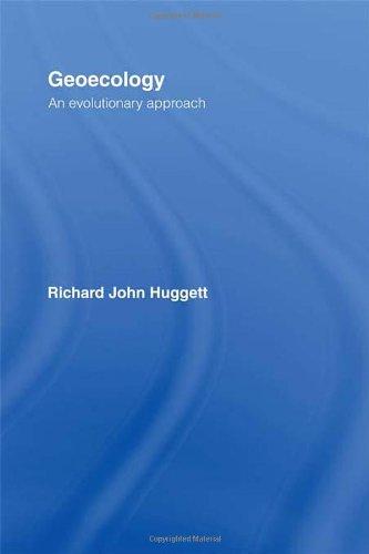 Geoecology: An Evolutionary Approach