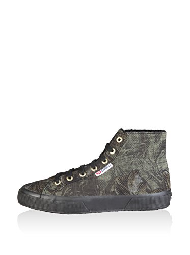 Chaussures Le Superga - 2795-cotudenimflowers Military Flower