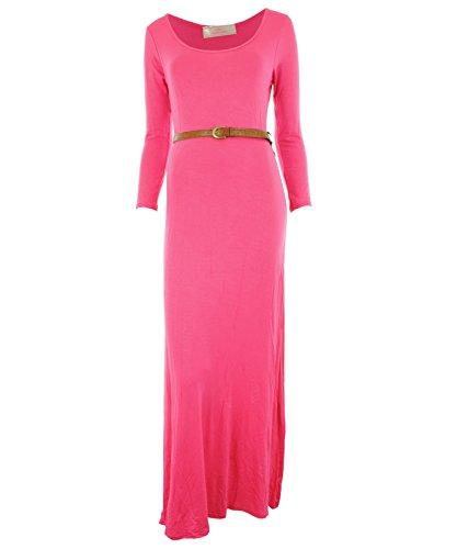 Gracious GirlDamen Kleid Rosa - Kirschrot
