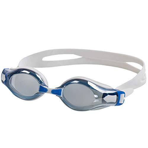 LBXMLX wasserdichte, beschlagfreie und UV-beständige Schwimmbrille Comfort 2800m Beschichtung, Antibeschlag- und UV-Schutz @ Bright Blue -