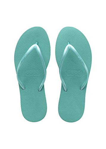 Dupe' Infradito MOD. Charme Donna. Mare Piscina Nuoto Freetime Green (37/38)