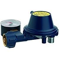 regulador de baja presión Tipo EN61con manómetro con salida a 90° 30mbar–GOK