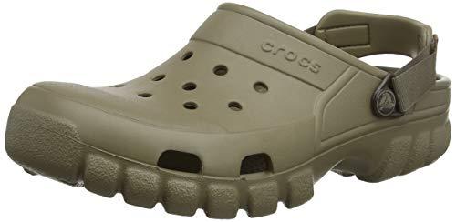 Crocs Offroad Sport - Zuecos sintético hombre, Marrone