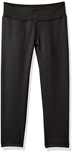 Amazon Essentials Mädchen Active Capri Legging, Schwarz (Black), 12 Jahre (Herstellergröße: US XL )