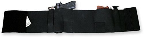 Bulldog Cases Deluxe Belly Band Wrap Holster, X-Large, Black