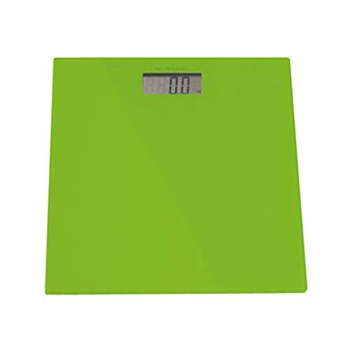 LXFMD Elektronische Waage der elektronischen Waage des Gesundheitssystems zu Hause (Farbe : Grün)