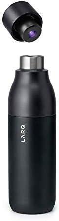 LARQ Geïsoleerde Zelfreinigende en Roestvrij staalwaterfles met UVwaterzuiveringsinstallatie
