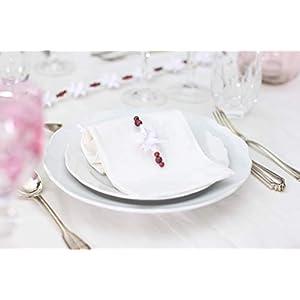 Tischdeko Sterne, Tischkarte Hochzeit, Wintertisch, Gästegeschenk Hochzeit, 3er Set Fröbelstern Angänger, Tischdeko Taufe Kommunion Konfirmation Hochzeit