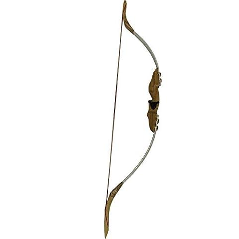 30lbs Chasse au tir à l'arc Arc recourbé Arc traditionnel Longbow
