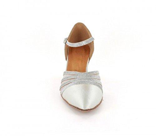TDA ,  Damen Tanzschuhe 6cm White