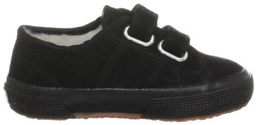 Superga Cobinvj, Unisex - Kinder Sneaker Schwarz (Full Black)