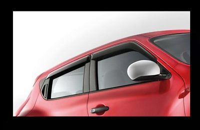 Genuine Nissan Juke Wind Deflectors set of 4