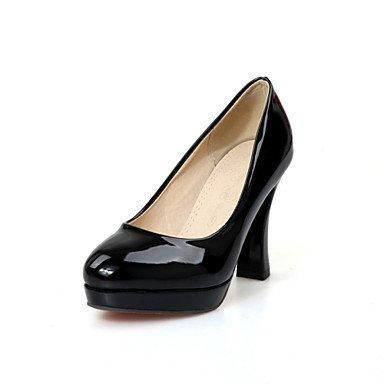 Zormey Frauen Schuhe Schieber Ferse/Plattform/Round Toe Heels Party & Amp Abend-/Kleid Schwarz/Rosa/Wei? US5.5 / EU36 / UK3.5 / CN35