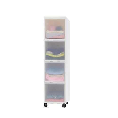 Zzg-2 Küche-Aufbewahrungsbox, schmaler Spalt kann es bewegen tägliche Notwendigkeiten, die Kabinett-Kleinigkeiten Imbiss-Aufbewahrungsbehälter, 57-182CM (größe : 26 * 46 * 107CM) -