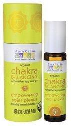 Chakra Balancing Aromatherapy Empowering Solar Plexus 0.31 fl oz Liquid by Aura Cacia