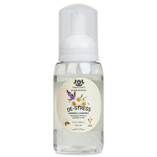 Keine Spülung Aromatherapie Shampoo & Conditioner für Haustiere Hund Shampoo, medizinische Haferflocken Hund Shampoo & Pet Odor Eliminator (Aromatherapie-schaum)