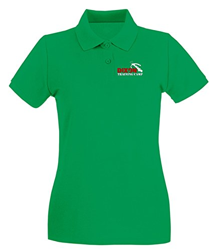 Cotton Island - Polo pour femme OLDENG00830 dixon training camp Vert