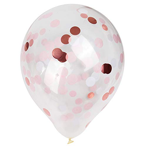 15pcs Confetti Filled Balloons. Perfect for anniversaries, birthday etc.