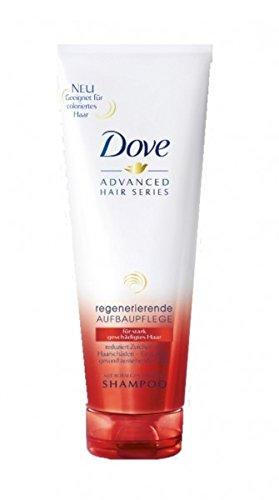 Dove Advanced Hair Series Shampoo Regenerierende Aufbaupflege 250 ml , Pack 250 ml:6 x 250 ml