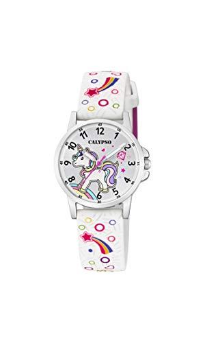 Calypso Watches Reloj Analógico para Unisex Niños de Cuarzo con Correa en Plástico K5776/4