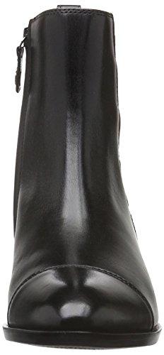 Geox D Lover A, Bottes Chelsea Femme Schwarz (BLACKC9999)