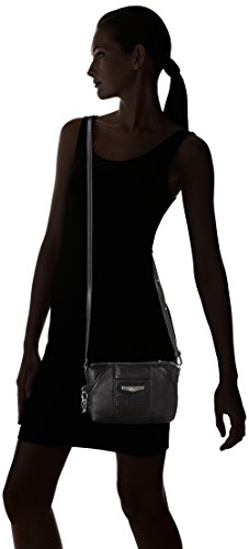 Kipling - Art Xs, Borse a tracolla Donna Nero (Night Black)