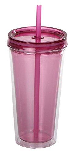 culinario Trinkbecher Ice Mug, Thermobecher mit 500 ml Inhalt, pink