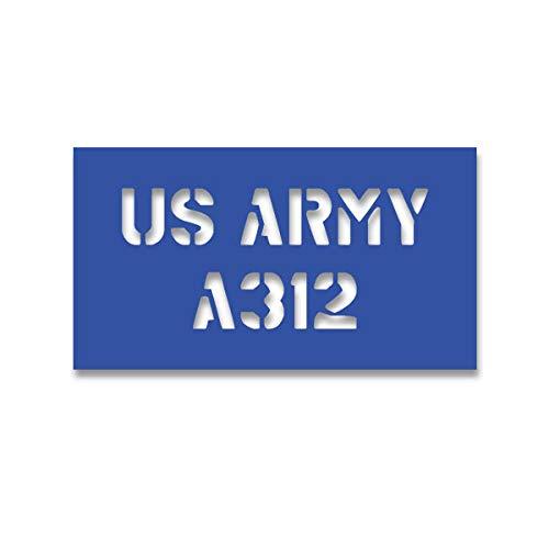 Lackierschablonen Aufkleber A312 Stencil Amerika Beschriftung 38x17cm #A4511