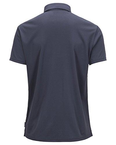 Herren T-Shirt Peak Performance Panmore Polo Dark Slate Blue