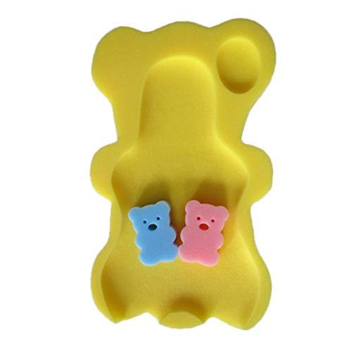 Arichtop 9 Farben Schwamm Baby Badematte Rutschfeste Sponge Mat Rutschfeste Badewanne Infant Bad Pad Neugeborenen Sitz für Baby Care