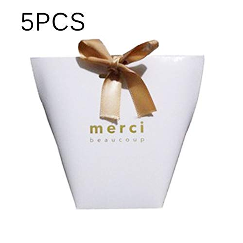 Box Gift - 5pcs Paper Bag Folding Candy Gift Boxes 39 S Day Thanksgiving Presents Favors Delicate Packing - Girls Garden Case Technology Weddings Beauty Events Motorcycles Home Phones He (Macaron-box-party Favor)