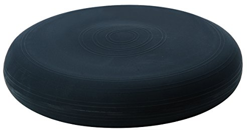 TOGU Dynair Ballkissen Sitzkissen 36 cm (Das Original), schwarz -
