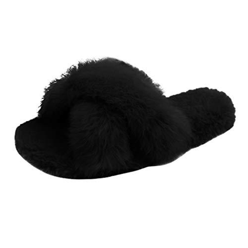 FATESHOP Show_Kinderschuhe Unisex-Kinder Tier Baumwolle Aus Gewirken Hausschuhe Kleinkind Winter Wärme Pantoffeln Indoor rutschfeste Weiche Leicht Hausschuhe