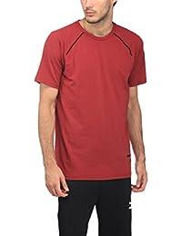 Puma Men's Solid Regular Fit T-Shirt
