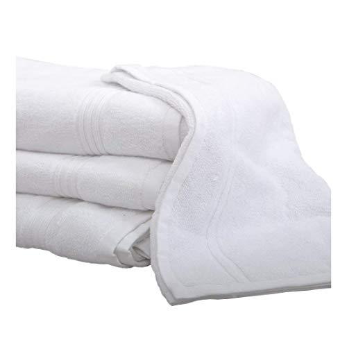 Luxus Hotel Qualität Weiß 100% Baumwolle Badelaken Badetuch, Handtuch Waschlappen, Bath Sheet 90 x 180cm (Hotel Bath Sheet)