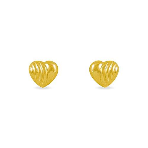 Stroili Oro Orecchini in oro giallo Cuore Referenza 1401045