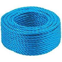Polypropylen-Seil, blau, 220 m x 10 mm, 1 Stück, Ref krp Farbe 22/10 (DE)