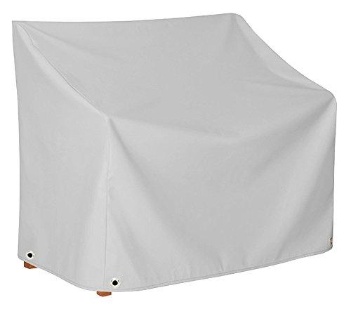 Handgefertigte Schutzhaube mit zwei Höhen für Ihre Gartenbank | Wasserdichte Schutzhülle für Ihre Gartenmöbel | Abdeckhaube aus LKW-Plane (650gr/qm) | 14 Farben | Maße in cm: B...