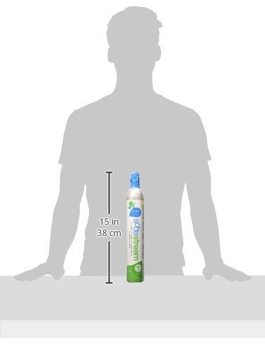 SodaStream ReservePack- mit PET Flasche (1 CO2-Zylinder für 60L und 1L PET-Flasche) - 2