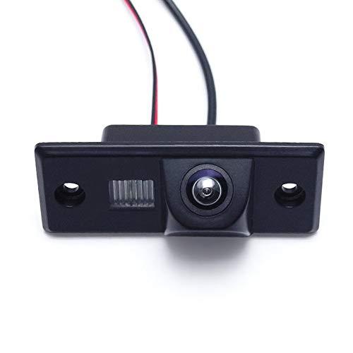 Kalakus HD CCD Auto Rückfahrkamera mit Wasserdicht integriert in Nummernschild Rückfahrsystem für VW Volkswagen Touareg/Tiguan Santana/Jetta/Polo/Skoda/Porsche/Polo/Golf Ccd Rückfahrkamera