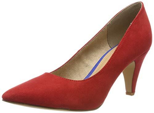 s.Oliver 5-5-22406-22 500, Scarpe con Tacco Donna, Rosso (Red), 37 EU