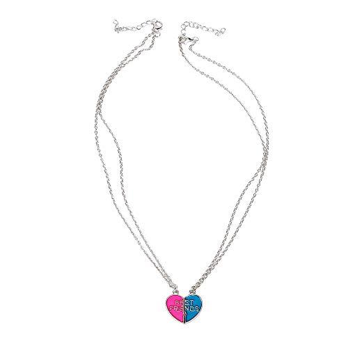 jieGREAT ❄ Damenschmuck ❄ ,Europa und die Vereinigten Staaten Trend Wild Schmuck Liebe Beste Freunde Halskette