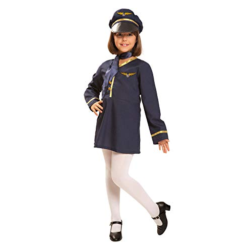 My Other Me - Déguisement d'hôtesse de l'air pour fille (Viving Costumes) 10-12 años