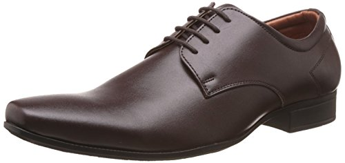 Bata Men's Pine-Derby Brown Formal Shoes - 9 UK/India (43 EU)(8214203)