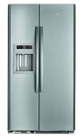 Whirlpool WSC5541 A+NX frigo américain - frigos américains (Autonome, Acier inoxydable, Américain, A+, T, Bord)