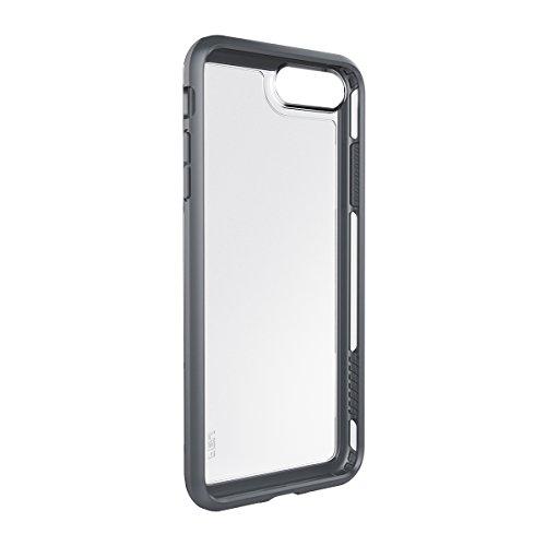 Peli Vault Étui de Protection pour iPhone 7 Plus - Noir / Gris Clair Transparent/Gris foncé